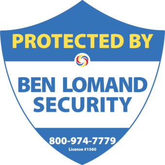 Protected by Ben Lomand Security Emblem. 800-974-7779. License #1560