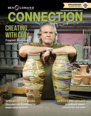 November/December 2020 Ben Loman Connection Magazine Cover