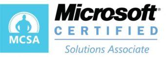 MCSA, Microsoft Certified Solutions Associate